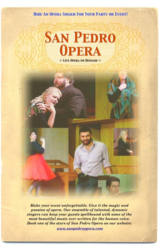 San Pedro Opera Flyer